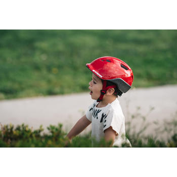 Fietshelm voor kinderen 500 rood