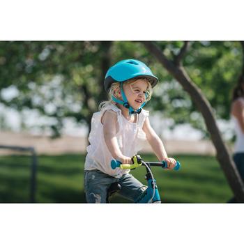 Fahrradhelm KH 500 Kinder türkis