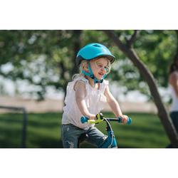 Fahrradhelm Kinder türkis