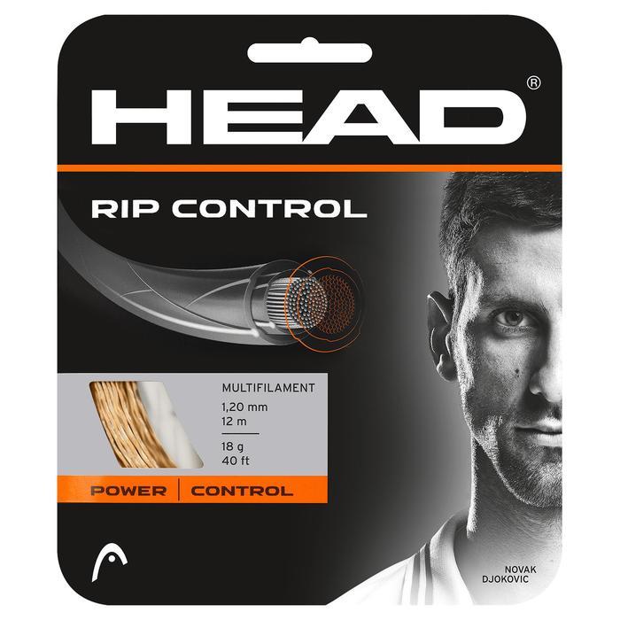 CORDAGE DE TENNIS HEAD MULTIFILAMENTS RIP CONTROL 1.30mm NATUREL