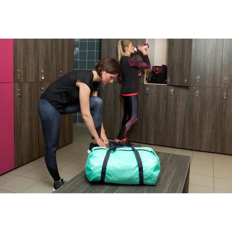 1b2f24bf7f38 Cardio Fitness Fold-Down Bag 30-Litre - Mint Green
