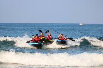 Comment surfer avec un kayak ?