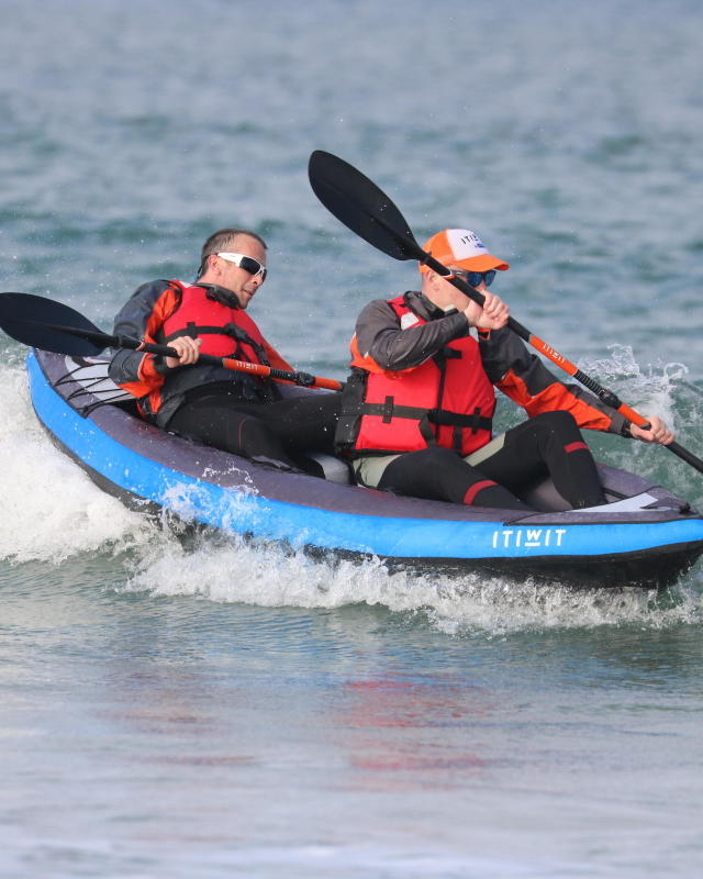HOW TO SURF A KAYAK | itiwit