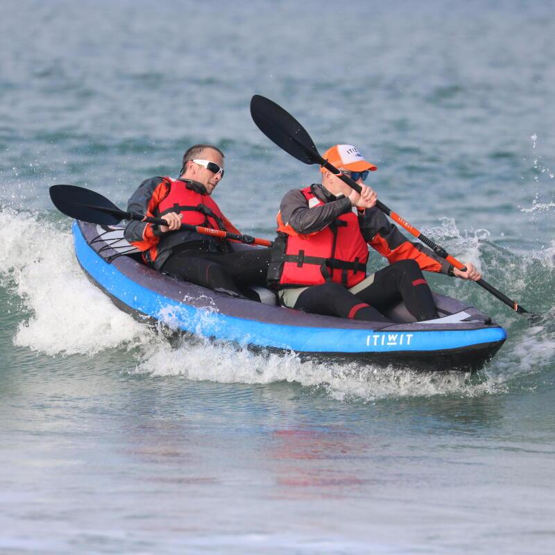 Kayaking current tide