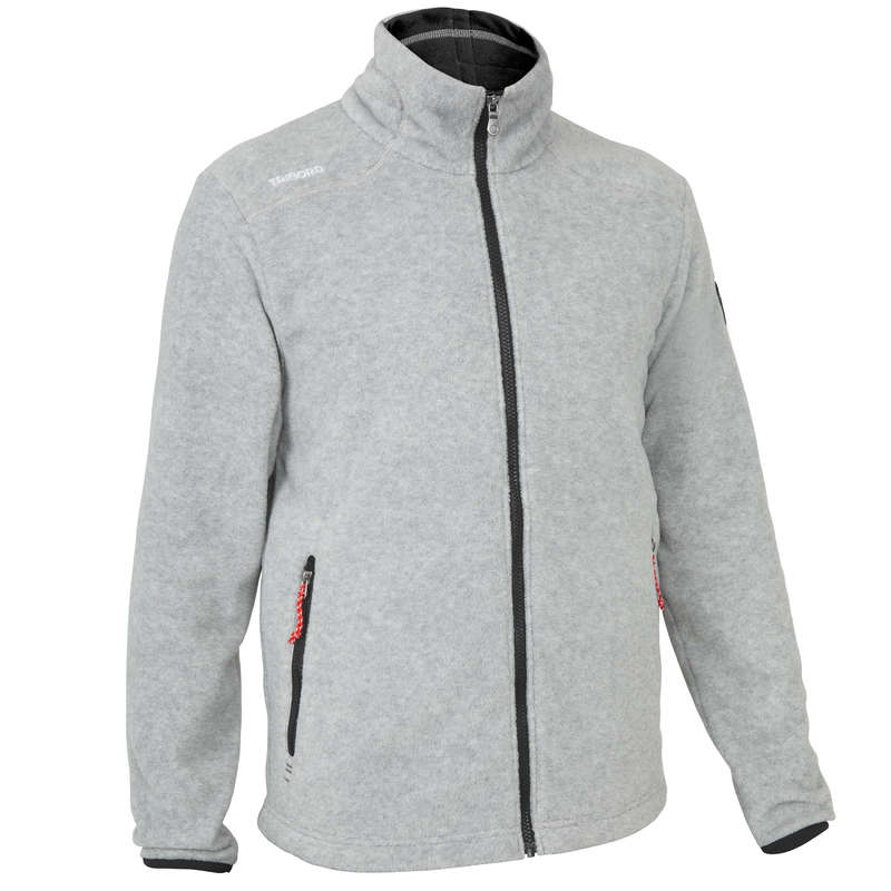 REGATTA COLD WEATHER MAN CLOTHES Sailing - M FLEECE RACE - MOTTLED GREY TRIBORD - Sailing Clothing