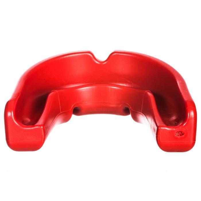 Protector dental de rugby adulto R100 rojo