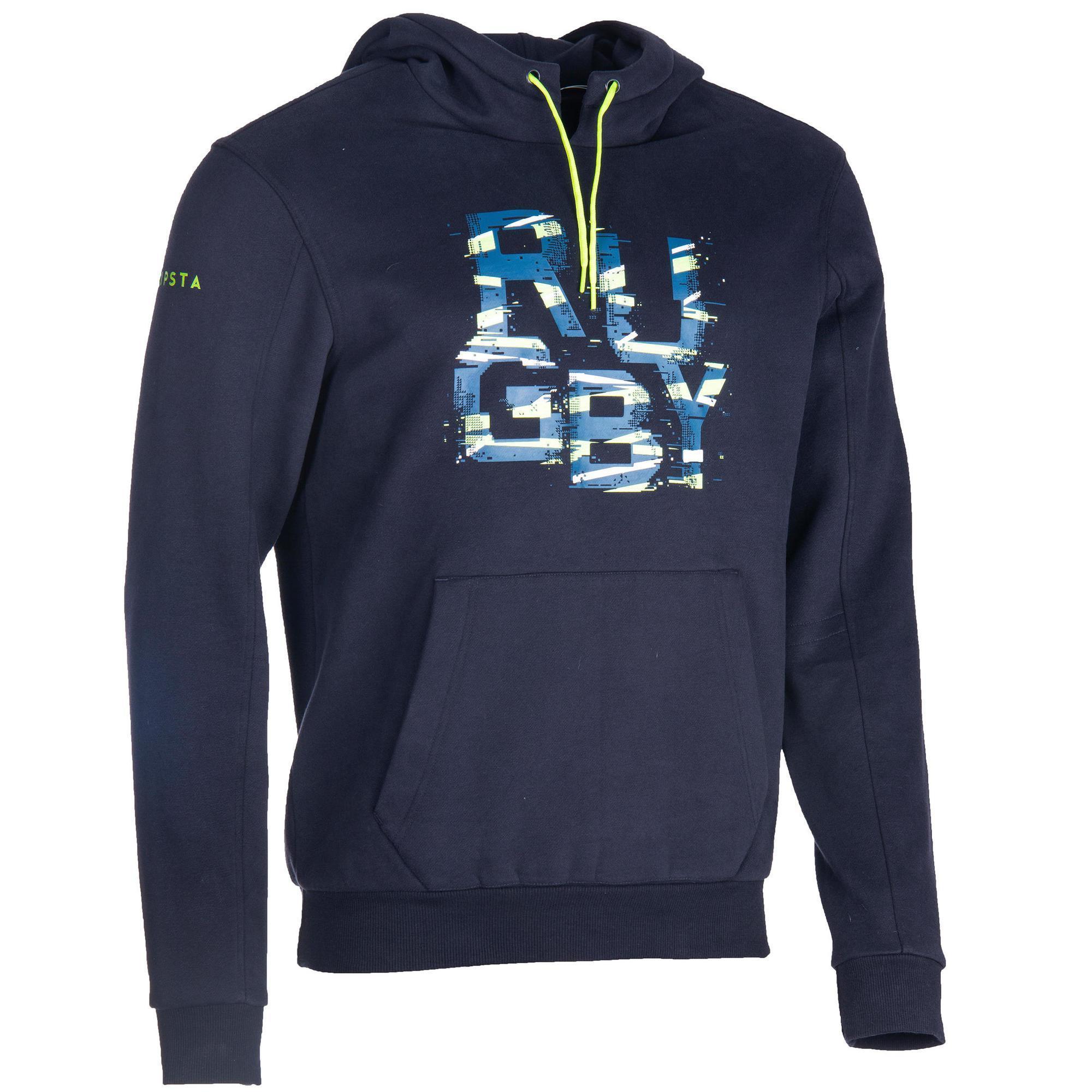 Kipsta Rugby hoodie voor heren