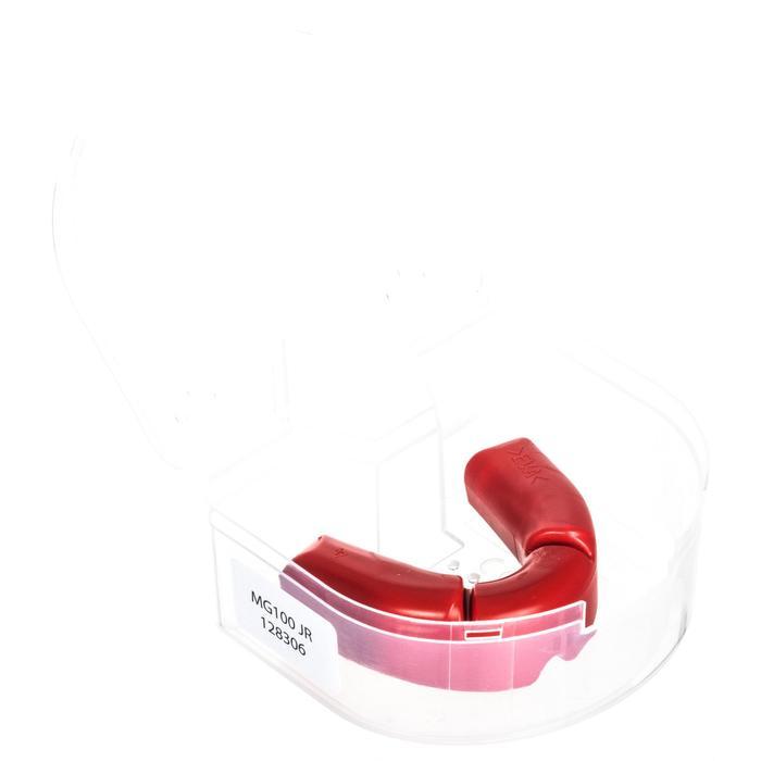 Protège dents rugby enfant 100 rouge