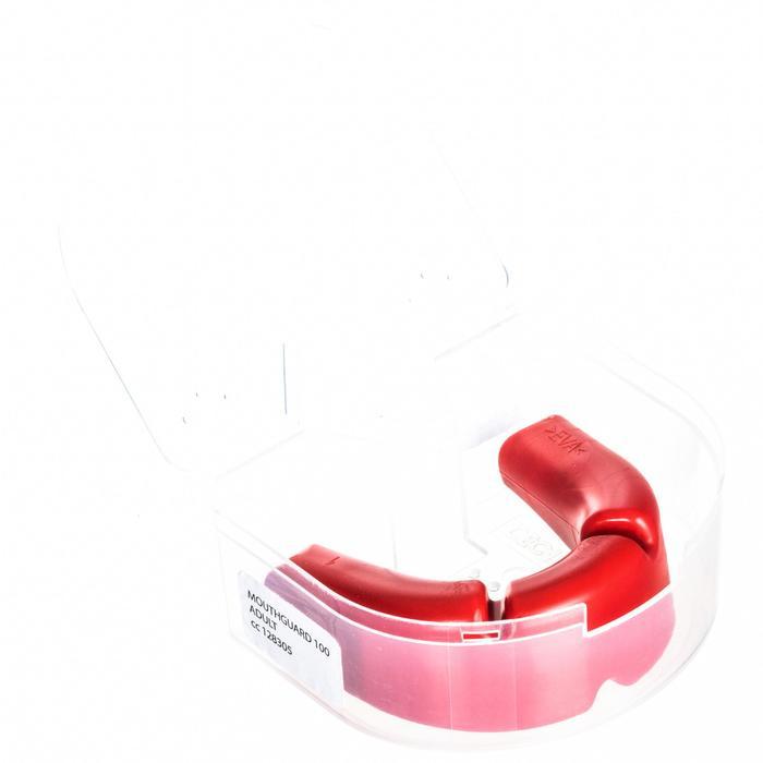 Protège dents adulte 100 rouge