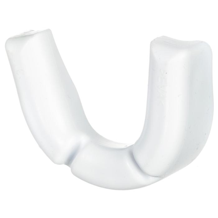 Protège dents rugby adulte R100 blanc