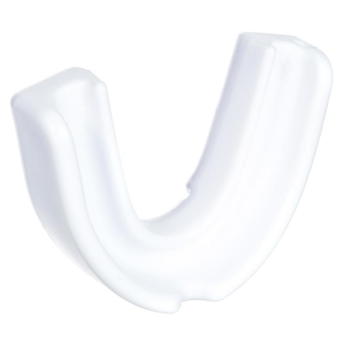 Protector dental de rugby júnior R100 blanco