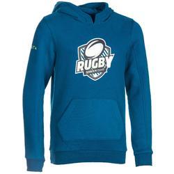 Sudadera capucha rugby júnior