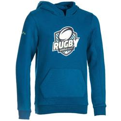 Rugby-Hoodie Kapuzen-Sweatshirt Kinder