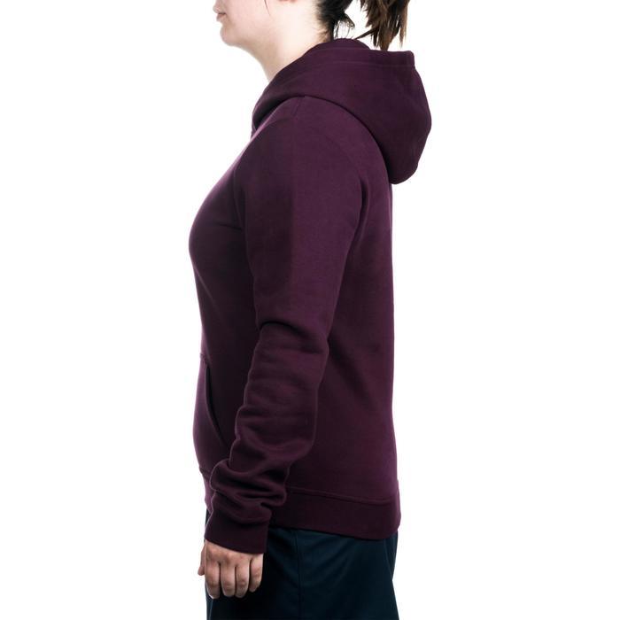 Rugby-Hoodie Kapuzen-Sweatshirt Damen