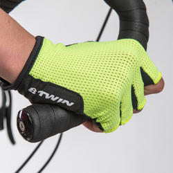Roadr 500 Cycling Gloves - Yellow