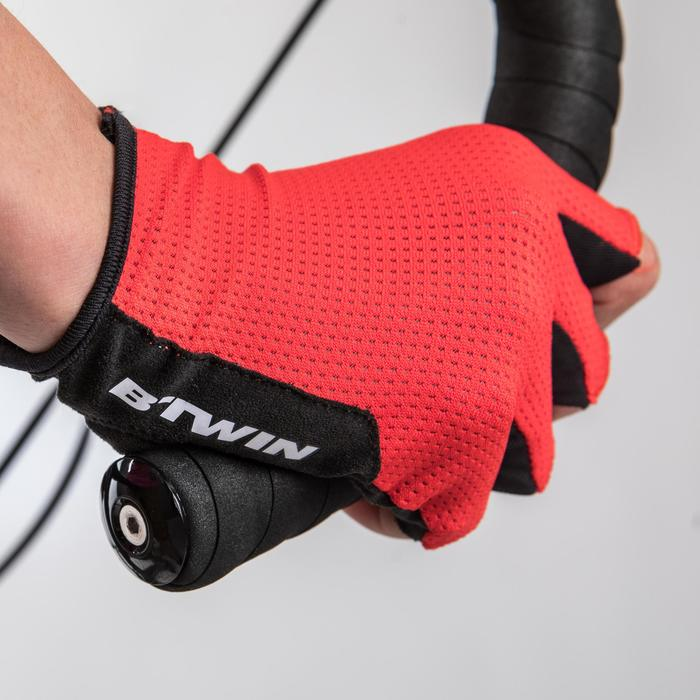 Guantes ciclismo ROADR 500 ROJO