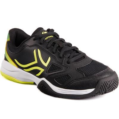 נעלי טניס לילדים דגם TS560 JR - שחור/צהוב