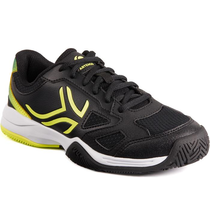 TS560 JR Kids' Tennis Shoes - Black/Yellow