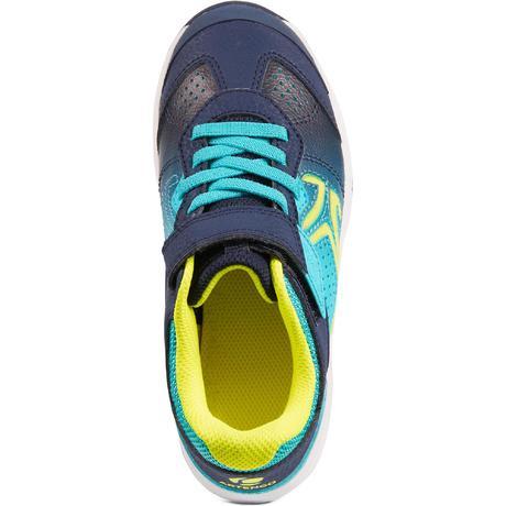 Artengo Enfant Ts160 Chaussure Bleu Tennis Vert m80vNnw