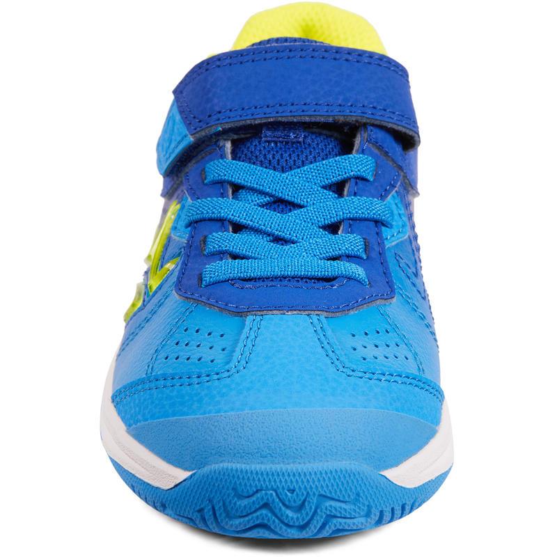 CHAUSSURES ENFANT TENNIS ARTENGO TS160 BLUE YELLOW