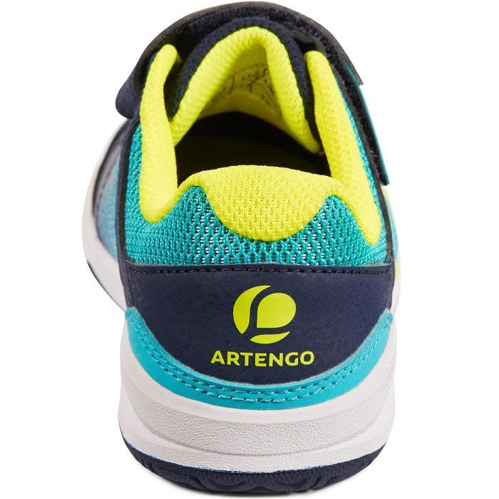 Tennisschoenen voor kinderen Artengo TS160 blauw groen