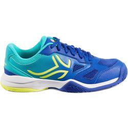 Tennisschoenen jongeren Artengo TS560 blauw/groen