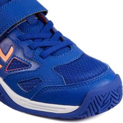 兒童款網球鞋TS560-薰衣草藍/粉紅色