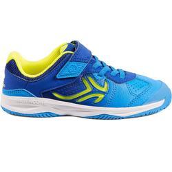 Tennisschoenen voor kinderen Artengo TS160 blauw/geel