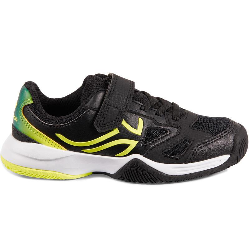 Sepatu Tenis TS560 KD Anak - Hitam/Kuning