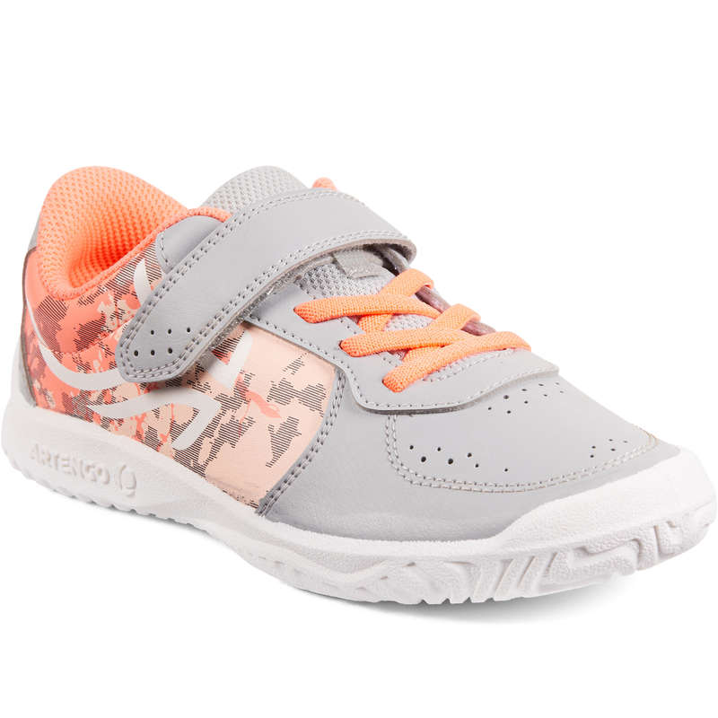 JUNIOR TENNIS SHOE Tennis - TS130 JR - Camo Girl ARTENGO - Tennis Shoes