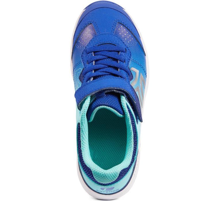 Tennisschoenen voor kinderen Artengo TS160 blauw/turkoois