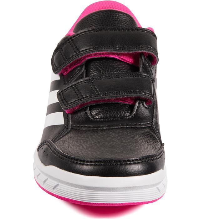 CHAUSSURES DE TENNIS ENFANT ADIDAS ALTASPORT BLACK/PINK - 1498448