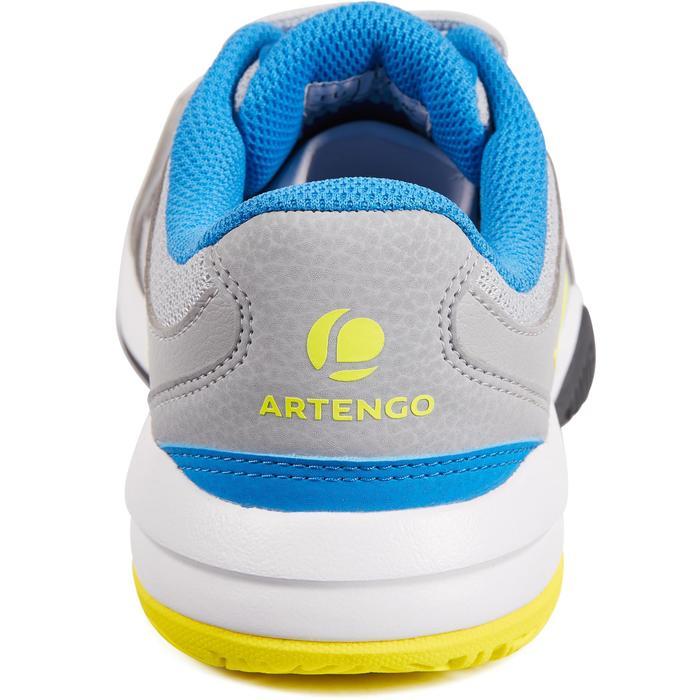 Tennisschoenen voor jongeren Artengo TS560 grijs/geel