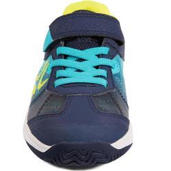 CHAUSSURES ENFANT TENNIS ARTENGO TS160 BLUE GREEN