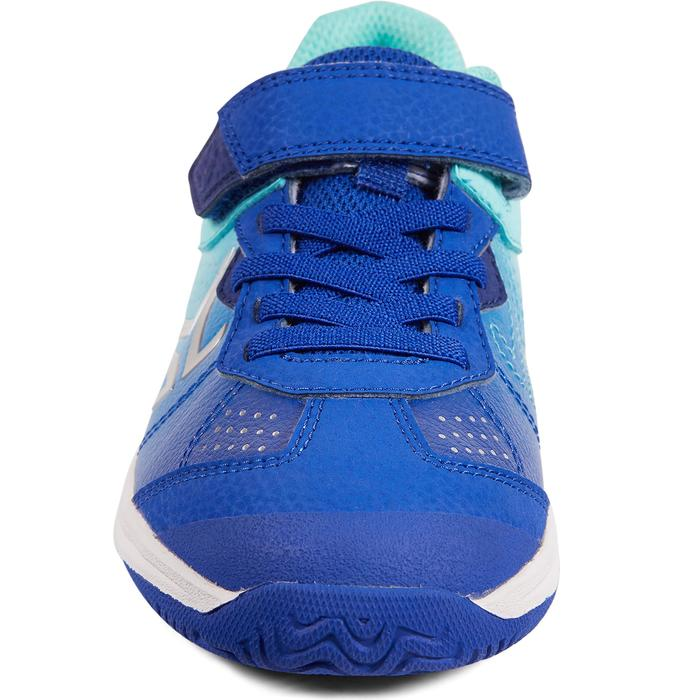 Tennisschuhe TS160 Turnschuhe Kinder blau/türkis