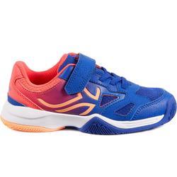 TS560 KD Kids' Tennis Shoes - Indigo/Pink