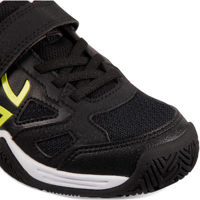נעלי טניס לילדים דגם TS560 KD - שחור/צהוב