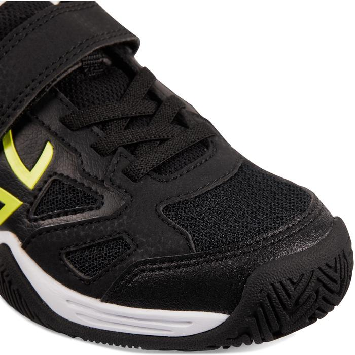 兒童款網球鞋TS560-黑黃配色