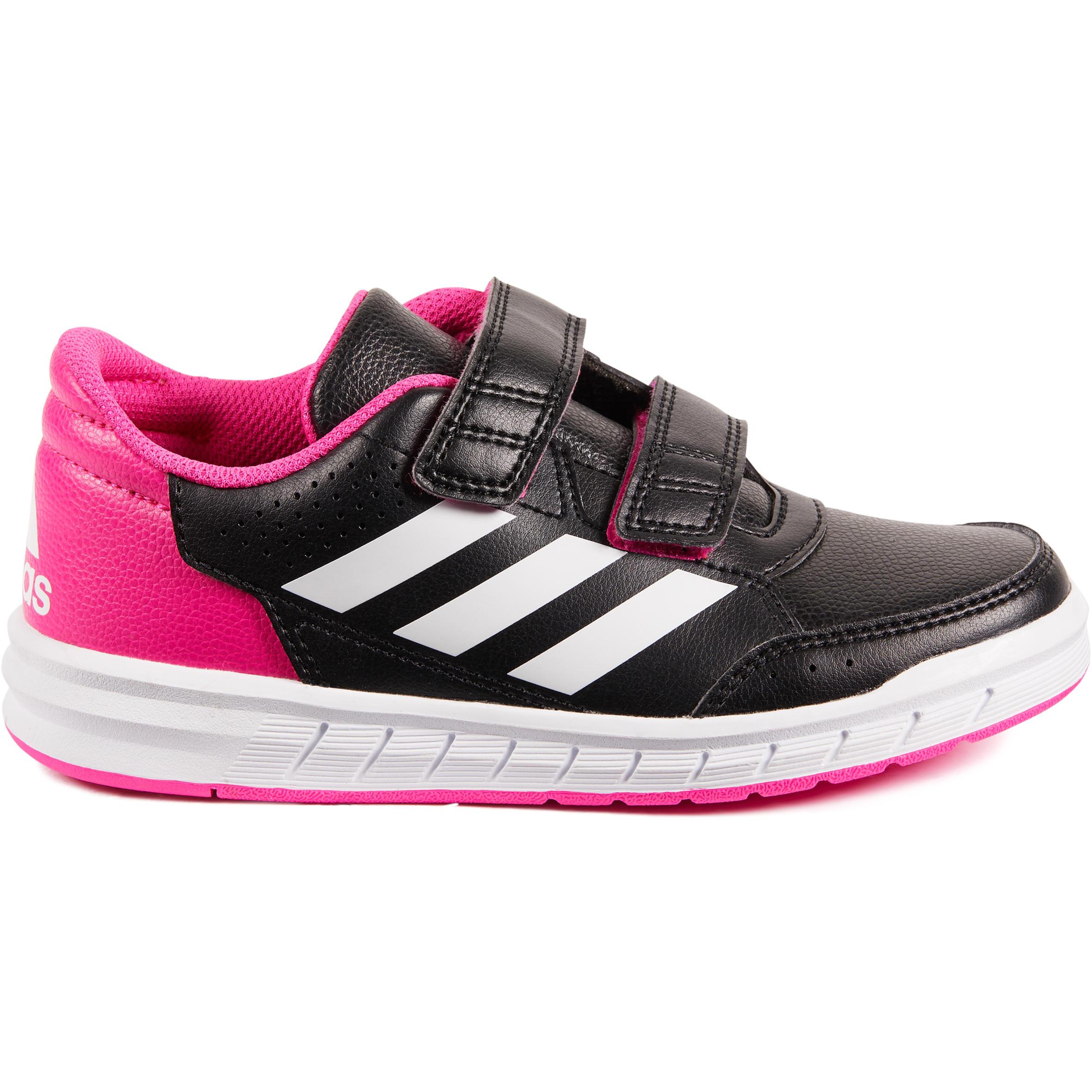 Adidas Tennisschoenen kinderen Adidas Altasport zwart/roze