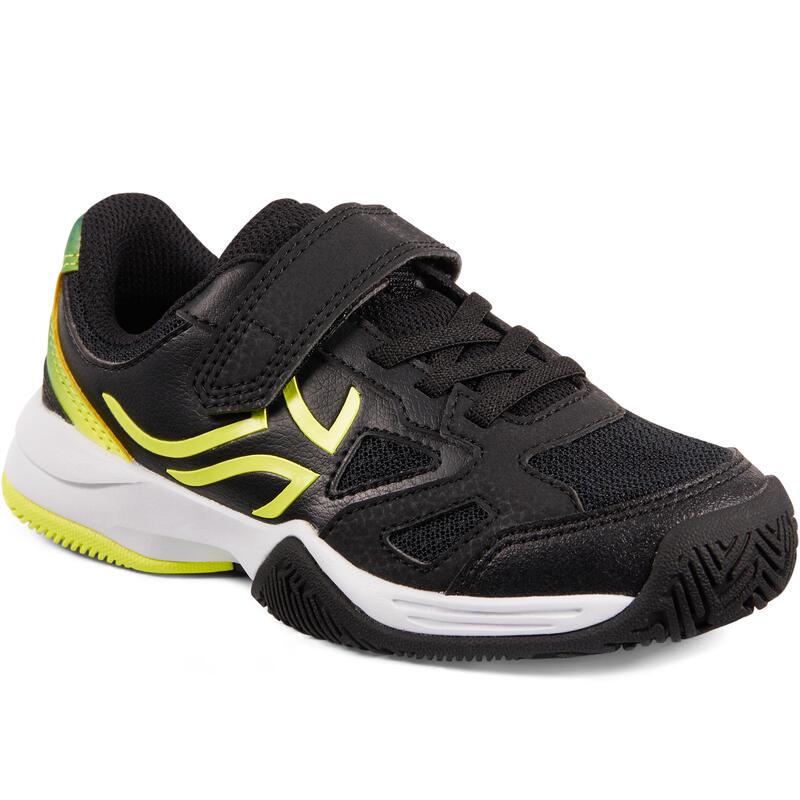 Çocuk Tenis Ayakkabısı - Siyah / Sarı - TS560