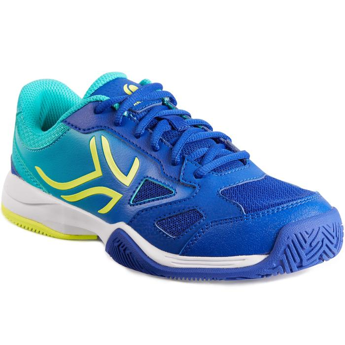 CHAUSSURES DE TENNIS ENFANT ARTENGO TS560 JR BLUE GREEN
