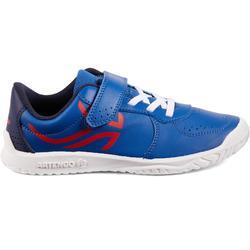 CHAUSSURES ENFANT TENNIS ARTENGO TS130 JR BLUE RED