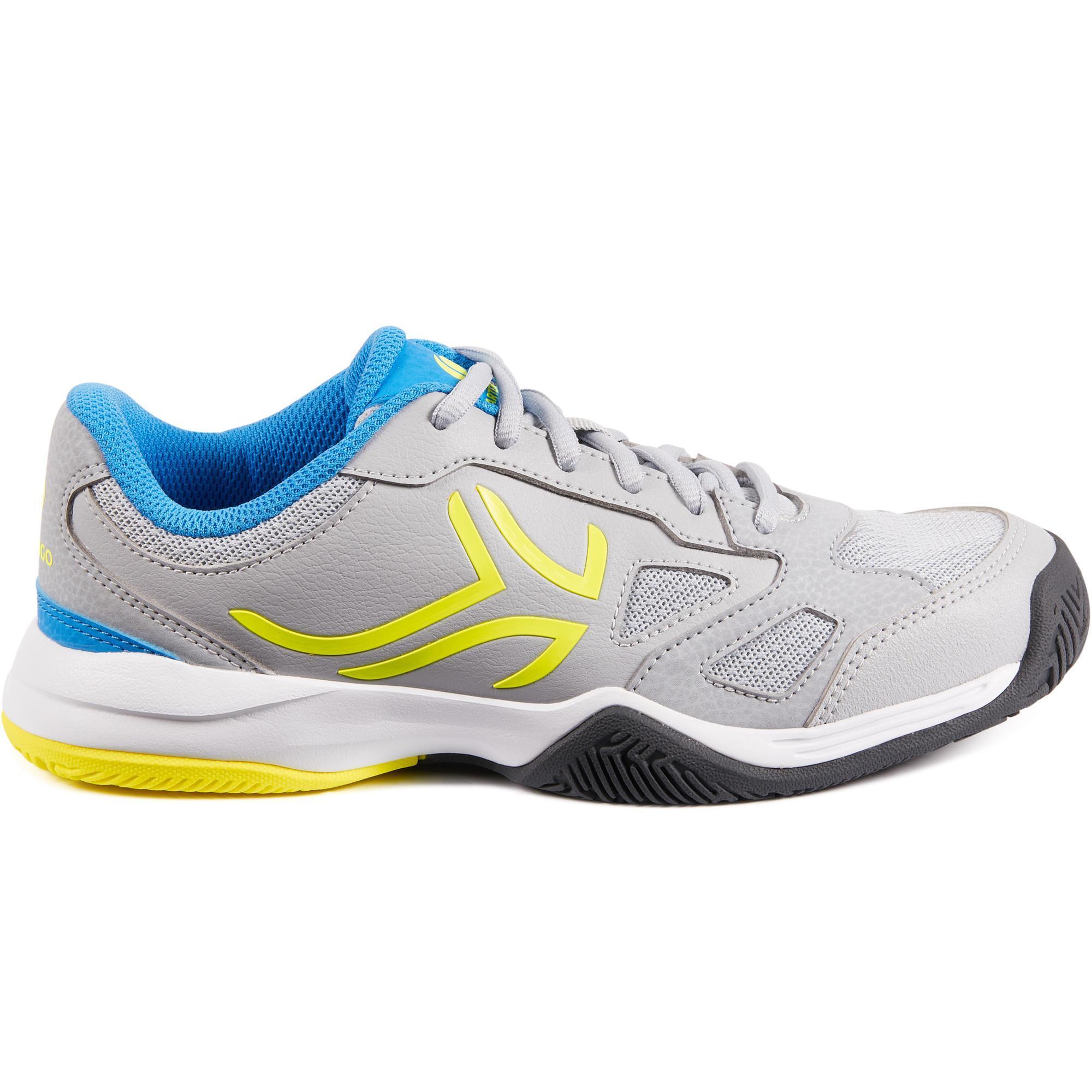 Artengo Tennisschoenen voor jongeren Artengo TS560 grijs/geel
