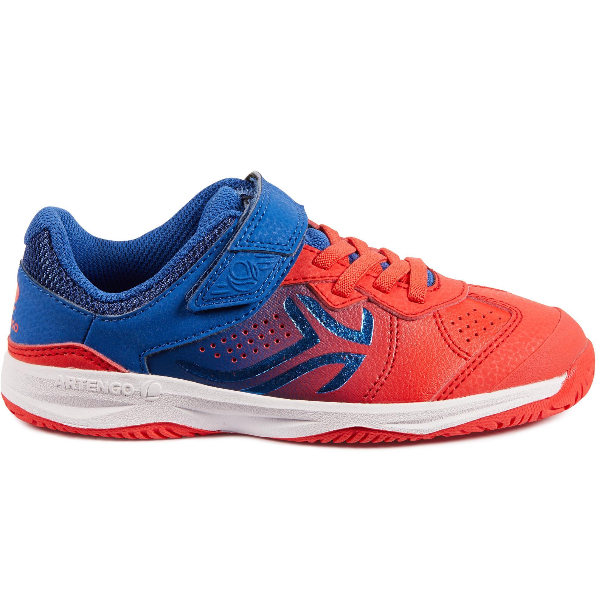 Artengo Tennisschoenen voor kinderen Artengo TS160 blauw/rood