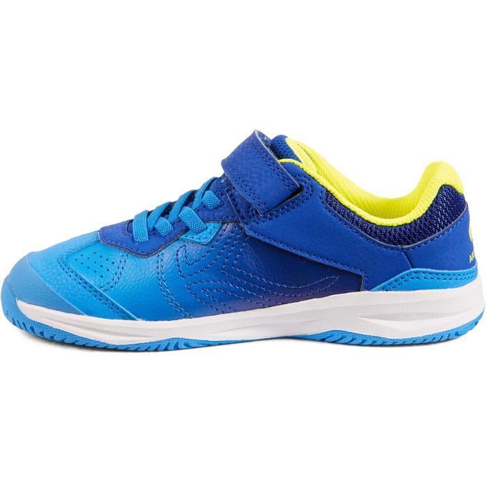 兒童款網球鞋TS160-藍黃配色
