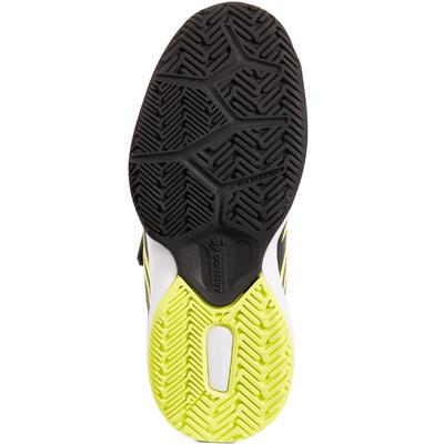 TS560 KD Kids' Tennis Shoes - Black/Yellow