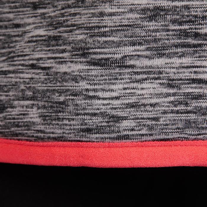 Thermisch vest kinderen 500 zwart/roze