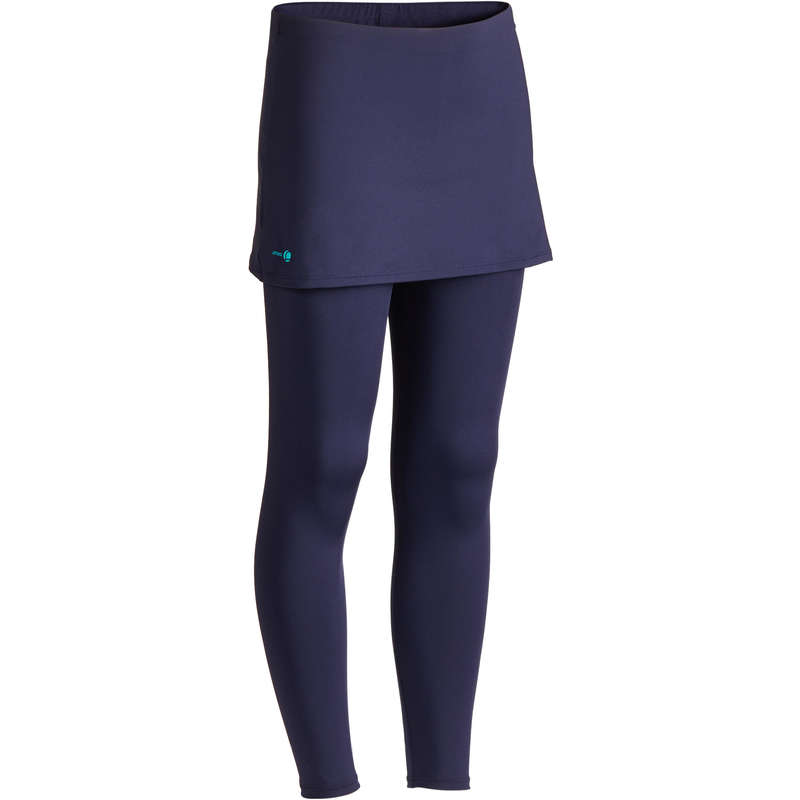 TENNIS COLD WEATHER APPAREL JUNIOR - TH 500 JR Girls' Skirt - Navy ARTENGO