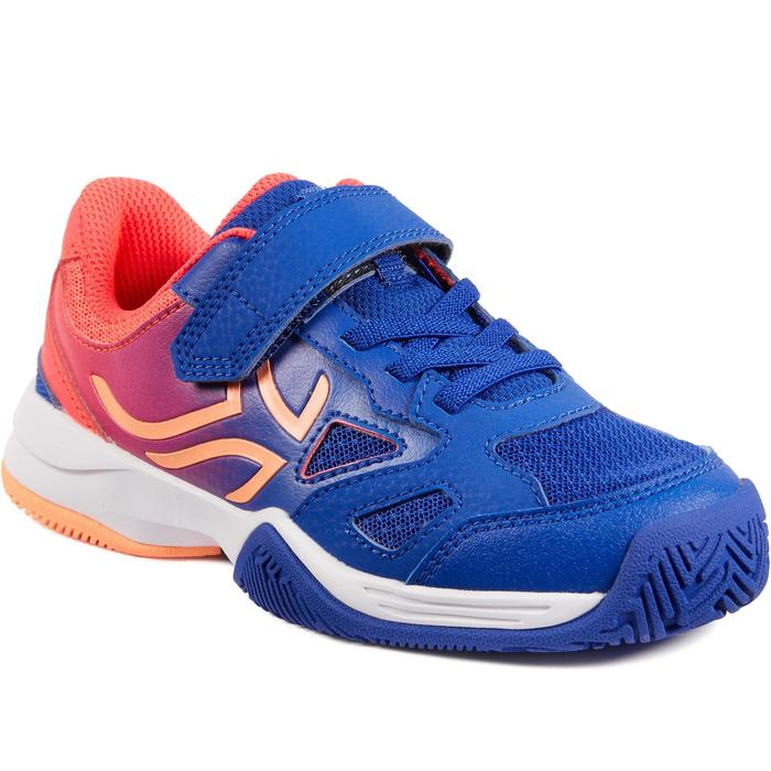 TS560 KD Kids' Tennis Shoes - Indigo/Pink