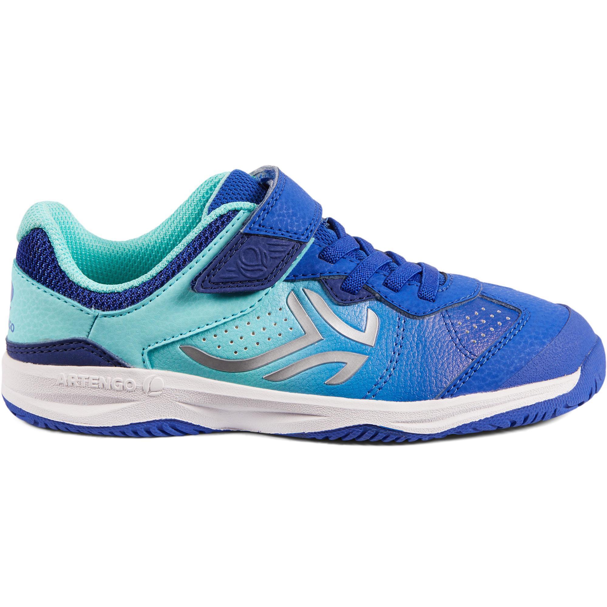 Artengo Tennisschoenen voor kinderen Artengo TS160 blauw/turkoois